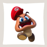 Super Mario Odyssey Throw Pillow Cushion -- Goomba [Cover+Insert] Accept Custom Orders