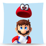 Super Mario Odyssey Throw Pillow Cushion 5 [Cover+Insert] Accept Custom Orders