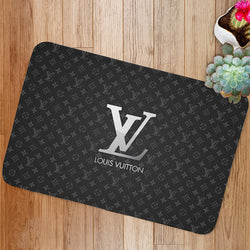 Luxury Louis Vuitton Logo Custom Floor Mat
