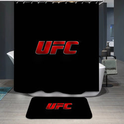 UFC Logo Custom Shower Curtain