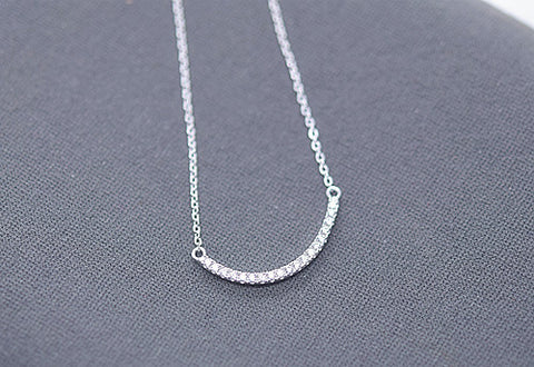 925 Silver Smile Necklace