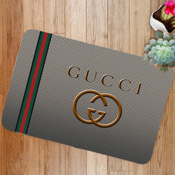 Luxury Gucci Logo Custom Floor Mat