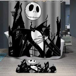 The Nightmare Before Christmas Jack Halloween Custom Shower Curtain
