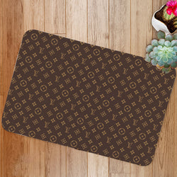 LV Luxury Louis Vuitton Logo Custom Floor Mat