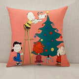 A Charlie Brown Christmas Throw Pillow Cushion Cover [Fillings Included]