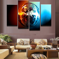 NARUTO - 4 Piece Canvas Wall Art