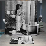 Beauty in Bath Custom Shower Curtain