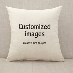Customized Throw Pillow Cushion Cover [Fillings Included]