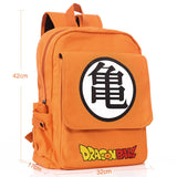 Dragon Ball Zongzi Thick Canvas Backpacks