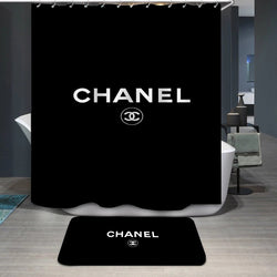 Chanel Logo Custom Shower Curtain