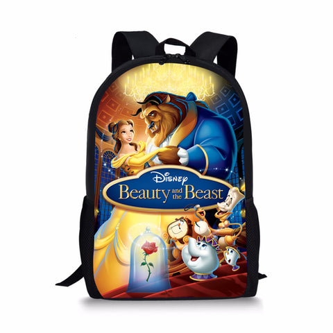 Beauty and the Beast Custom Printing Backpacks