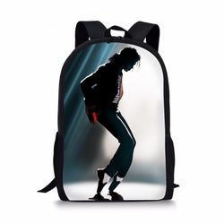Michael Jackson Custom Printing Backpacks