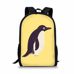 Animal Penguin Custom Printing Backpacks