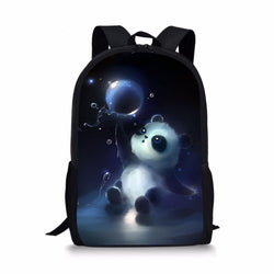 Animal Panda Custom Printing Backpacks