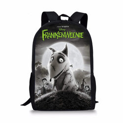 Frankenweenie Custom Printing Backpacks
