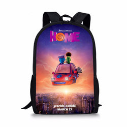 DREAMWORKS Home Oh Boov Custom Printing Backpacks