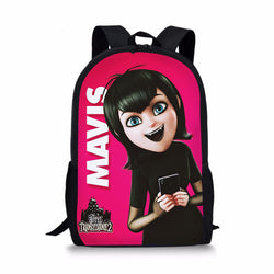 Hotel Transylvania Drakula Mavis Custom Printing Backpacks