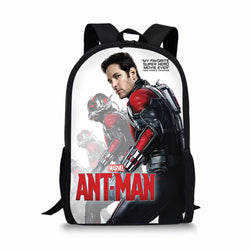 Marvel Antman Custom Printing Backpacks