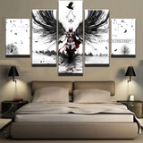 Movie Assassins Creed - 5 Piece Canvas Wall Art