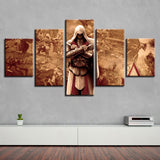 Assassins Creed - 5 Piece Canvas Wall Art