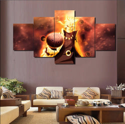 Naruto #1 - 5 Piece Canvas Wall Art
