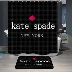 Kate Spade Logo Shower Curtain