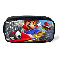 Super Mario Odyssey Custom Printing Pen Pouch