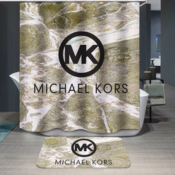Michael Kors MK Logo Custom Shower Curtain