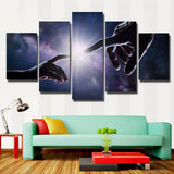 Finger Touch Artistic - 5 Piece Canvas Wall Art