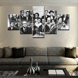 Movie Character - 5 Piece Canvas Wall Art