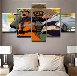 Naruto #4 - 5 Piece Canvas Wall Art