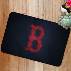 Boston Red Sox Logo Custom Floor Mat