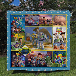Toy story Custom Printed Summer Quilt Blanket