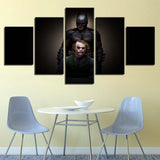 Batman Clown - 5 Piece Canvas Wall Art