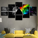 Pink Floyd Rock Music - 5 Piece Canvas Wall Art