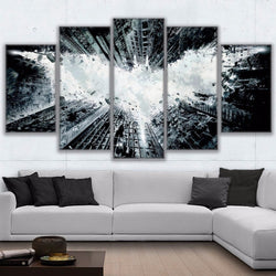 Batman Abstract - 5 Piece Canvas Wall Art