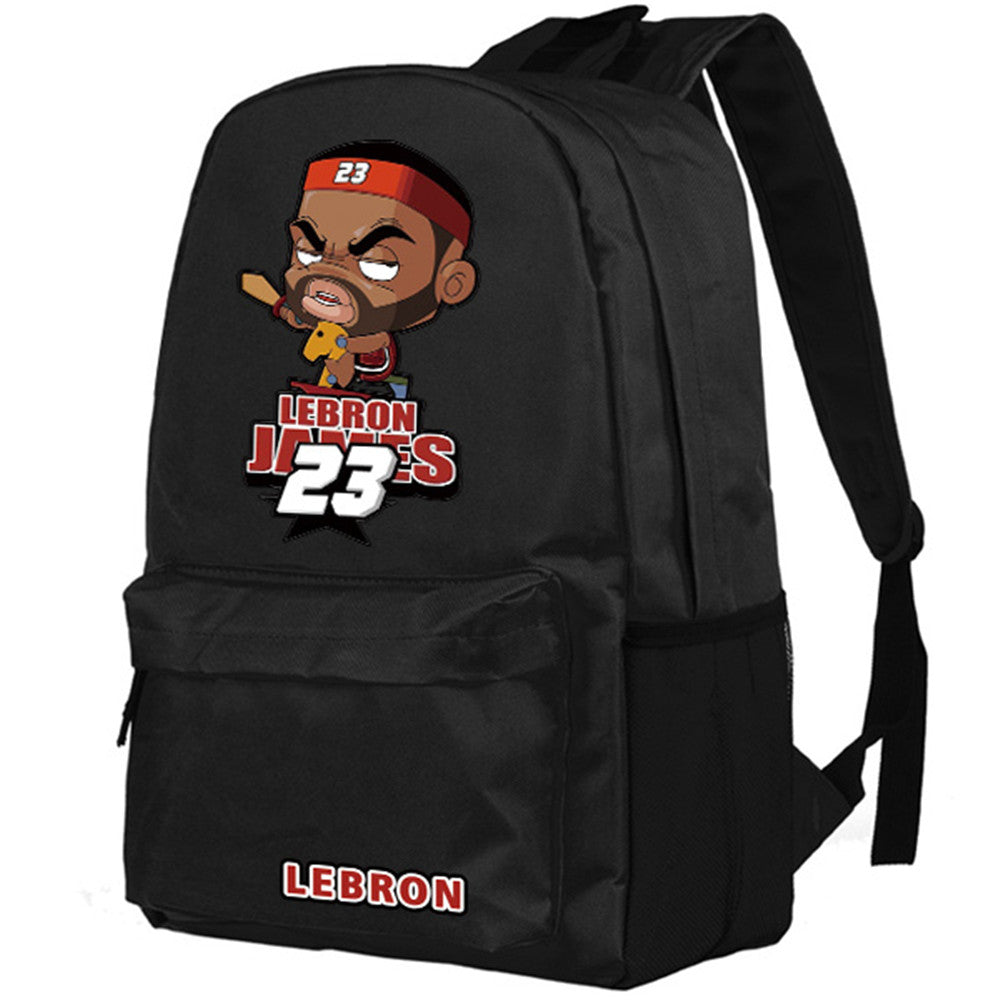 buy online c0dca e9450 Lebron James   Stephen Curry Canvas Backpacks – itdayshop
