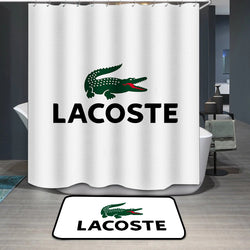 Lacoste Logo Custom Shower Curtain