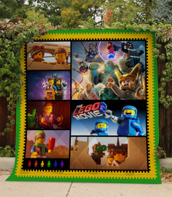The Lego Movie Custom Printed Summer Quilt Blanket