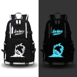 Naruto Big Canvas Luminous Backpacks