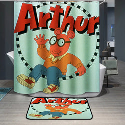 Mr. Ratburn Arthur Custom Shower Curtain