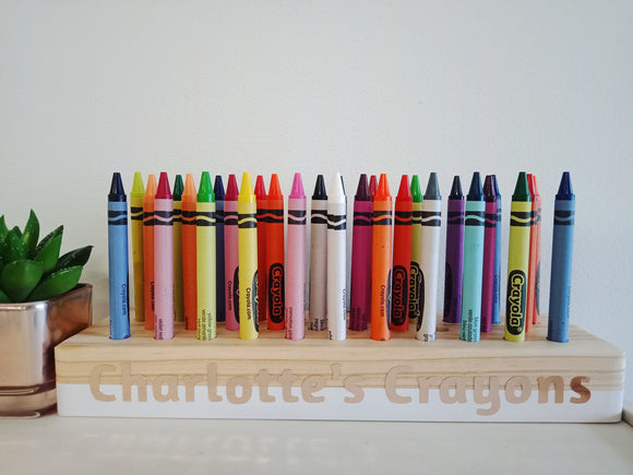 Custom Crayon Holder