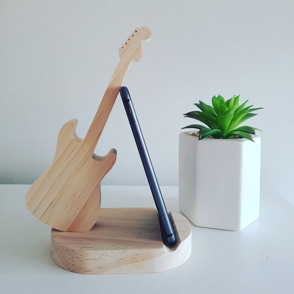 Guitar Phone Stand