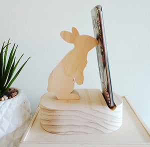 Bunny Phone Charger Station