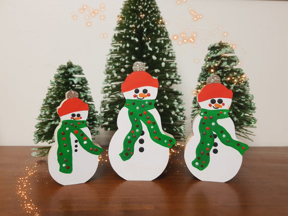 Snowmen Set of 3