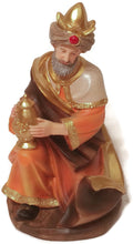 Large Christmas Nativity Scene Figurine Sitting Wise Man