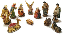 Large Christmas Nativity Scene Figurines set