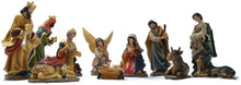 One foot tall Christmas Nativity Scene Figurine sets