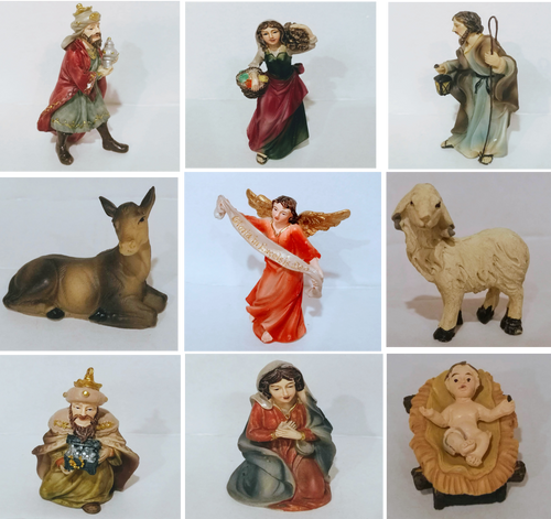 Replacement Figurine for 4 inch Nativity Set  (Single Figurine)