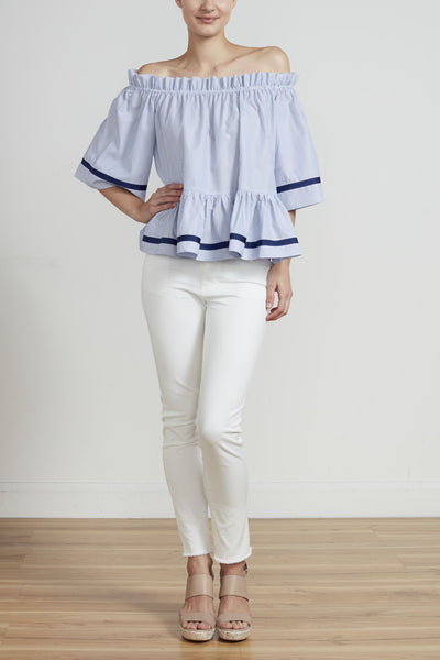 THE RIVIERA TOP - STRIPE